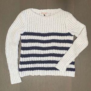 Rebecca Taylor Striped Knit Sweater